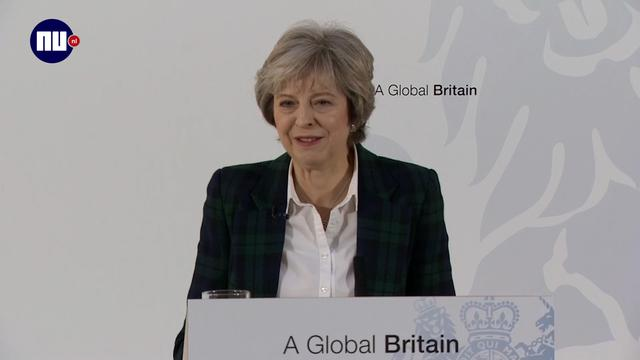 Theresa May: 'We verlaten EU, niet Europa'