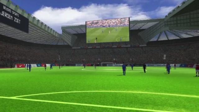 Beyond Sports zet echte voetbalwedstrijden om in Virtual Reality