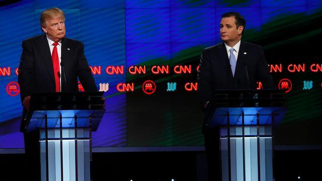 Voorzitter Republikeinen pleit tijdens debat voor eenheid