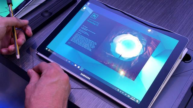 Nieuwe tablet van Samsung heeft glazen behuizing en grote stylus