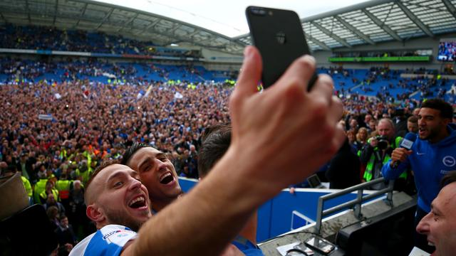 Brighton & Hove Albion debuteert volgend seizoen in Premier League