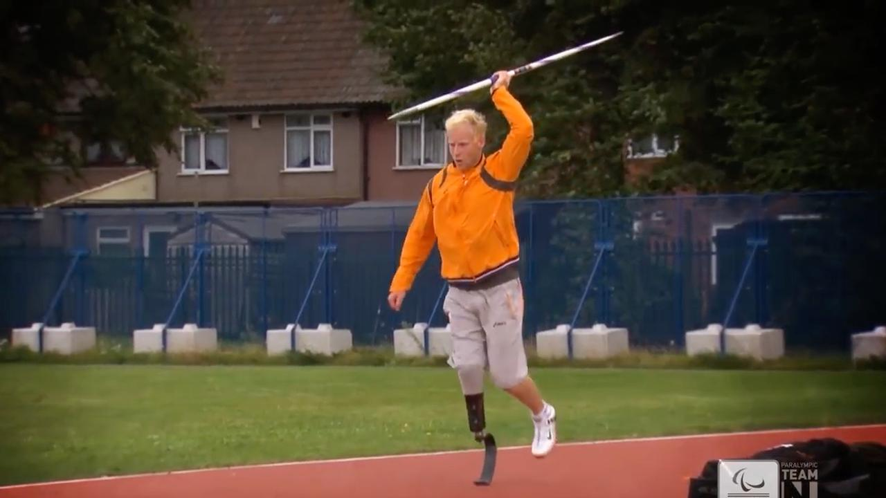 Minidocumentaire Paralympisch atleet Ronald Hertog