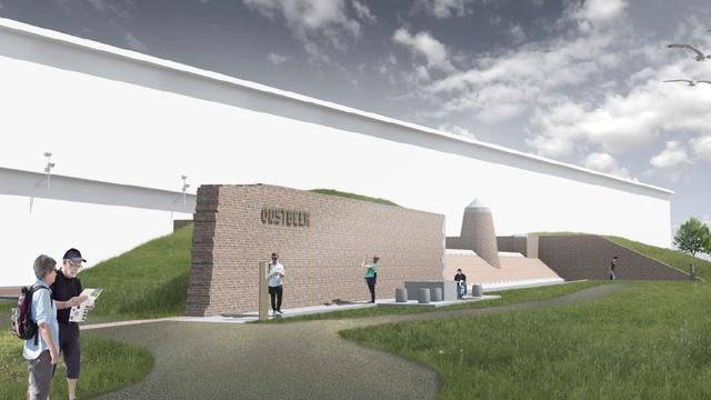 Inzamelactie voor letters Oostbeer in Vlissingen