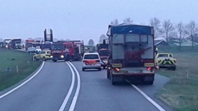 Persoon komt om na ernstig ongeval bij Den Bommel
