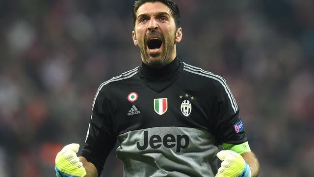 Doelman Buffon gaat tot veertigste door bij Juventus