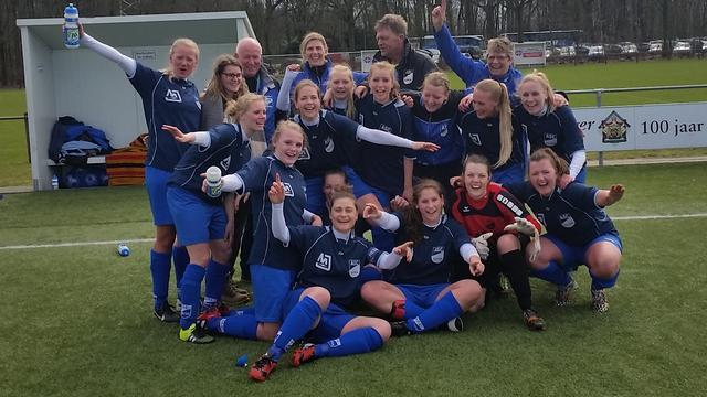 Vrouwen ASC'62 naar finale KNVB beker oost