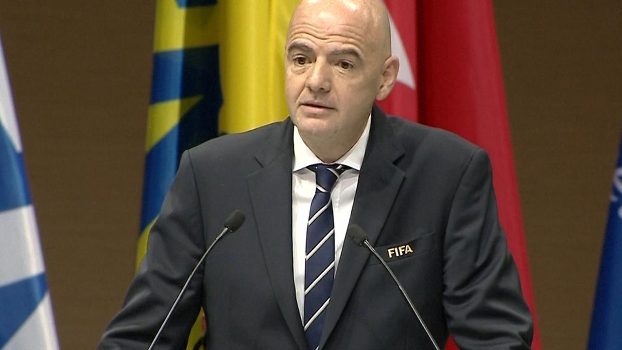 Infantino: 'Er is veel nepnieuws over de FIFA'