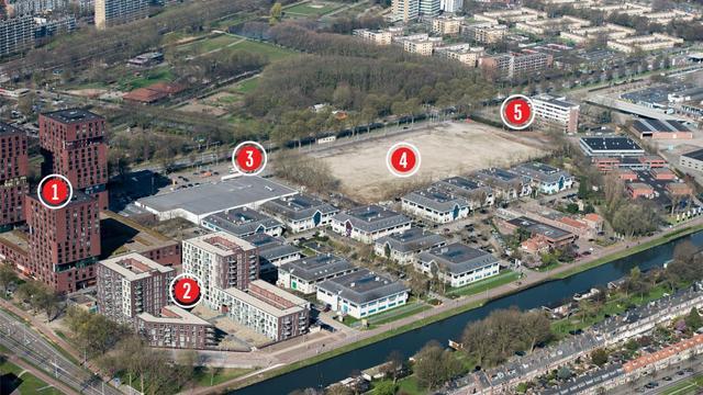Overzicht: Utrecht bouwt nieuwe stadswijk in de Merwedekanaalzone