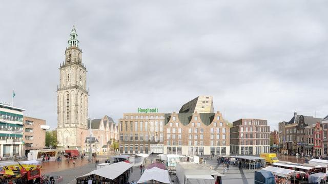 Architecten tonen ontwerpen Oostwand Grote Markt tijdens Let's Gro