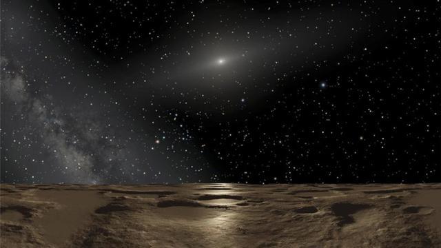 'Mogelijk nieuwe dwergplaneet ontdekt achter Pluto'