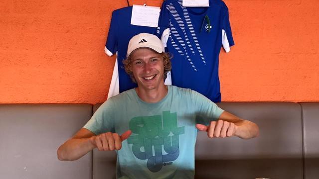 Titel Open Leidse tennis voor Lootsma en Zaniewska