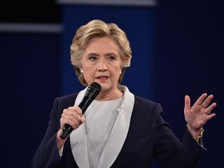 Clinton verwees naar de aanval op een pizzarestaurant