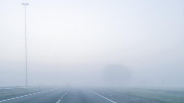 Alleen verkeer in Limburg nog gehinderd door mist