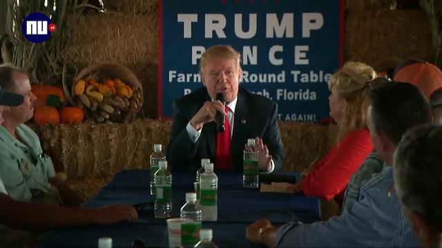 Trump vindt dat polls liegen en beïnvloed zijn door media