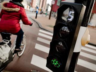 'Niemand heeft voorrang als alle fietsers tegelijk groen krijgen'