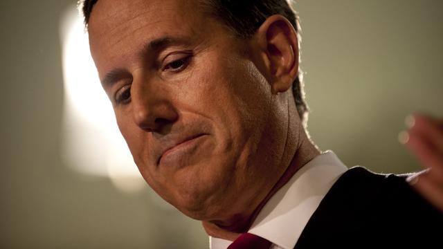 Oud-presidentskandidaat Rick Santorum spreekt steun uit voor Trump