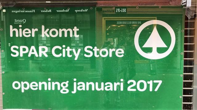 Nieuwe mini-supermarkt in binnenstad