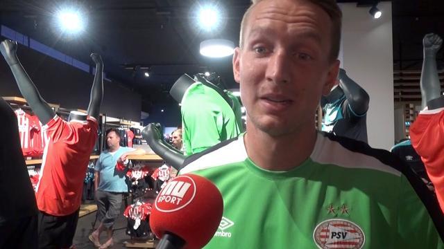 Luuk de Jong hoopt dat PSV revanche kan nemen op Atletico
