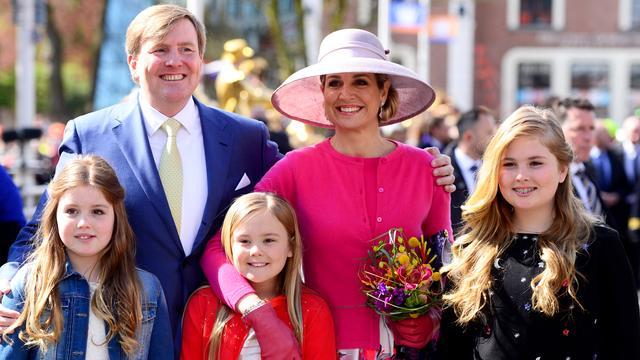 Koningspaar brengt bezoek aan Tilburg op Koningsdag 2017