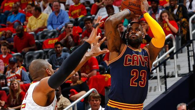 Cavaliers dicht bij finale na derde zege op Hawks in play-offs NBA