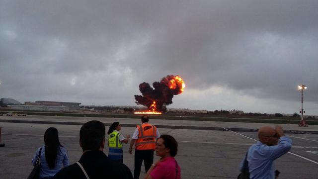 Vijf doden na crash klein vliegtuig op Malta