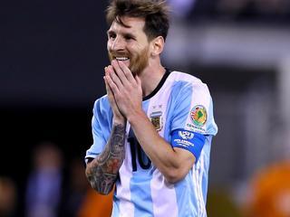 Stervoetballer verliest met Argentinië finale Copa América