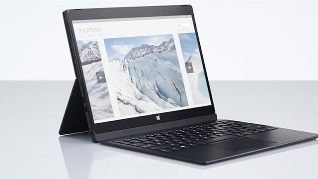 Dell kondigt nieuwe tablet met toetsenbord aan