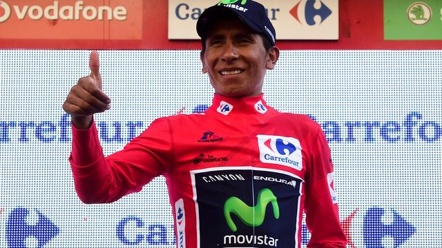 Eindklassementen na slotetappe Vuelta