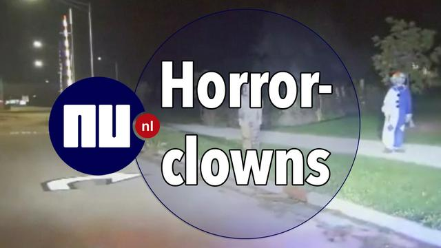 Ophef in tal van landen door 'horrorclowns'