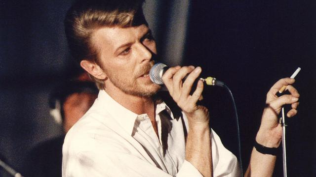 David Bowie vereeuwigd op roltrap TivoliVredenburg