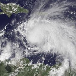 Orkaan Matthew neemt in kracht toe in Caraïbisch gebied