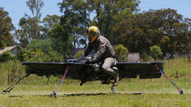 Maker Kickstarter-hoverbike werkt aan prototype voor leger VS