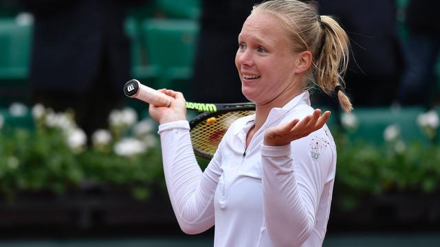 Bertens kan geluk niet op na bereiken halve finales Roland Garros