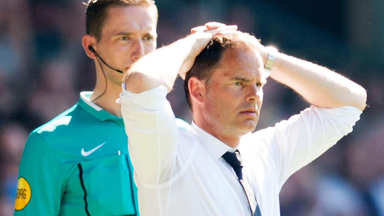 Frank de Boer vertrekt bij Ajax