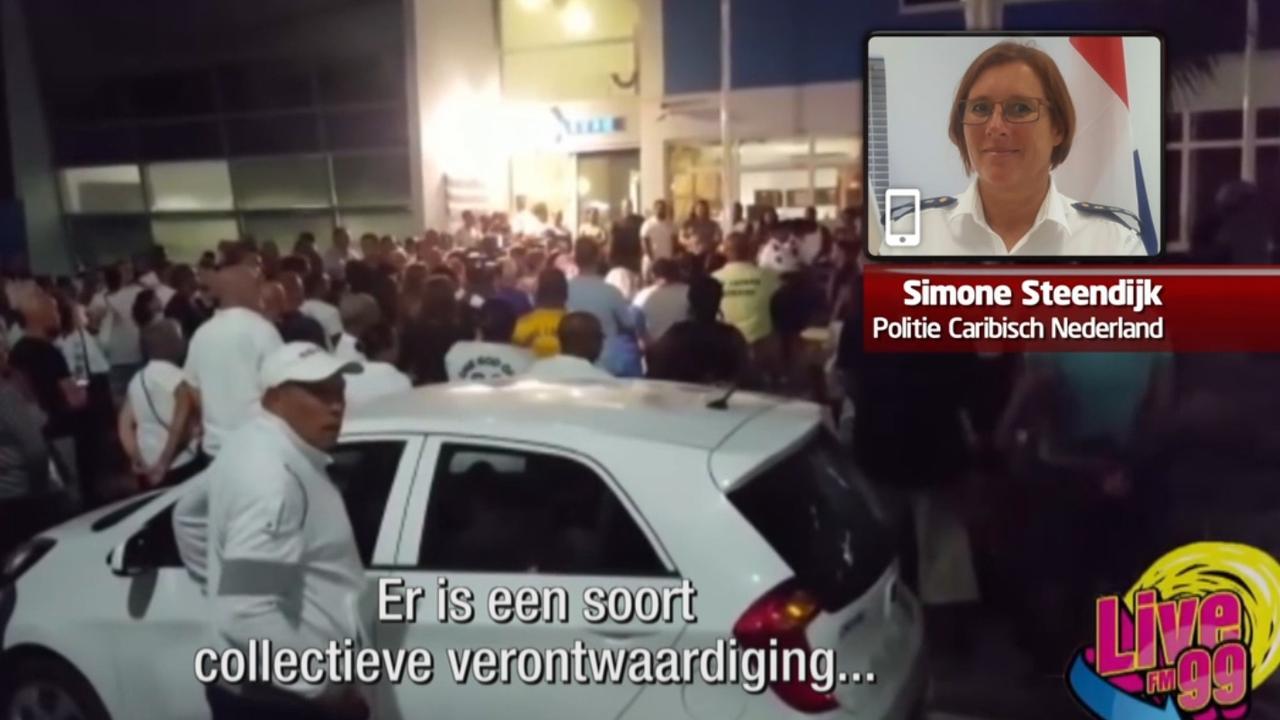 Bonaire neemt afscheid van doodgeschoten agent