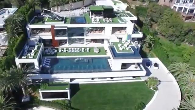 Duurste huis van de VS in Bel Air te koop