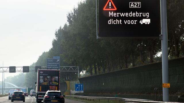 Extra overstap busreizigers Breda-Utrecht vanwege Merwedebrug