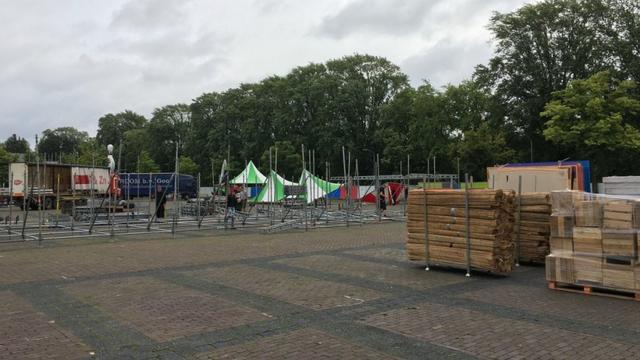 Chasséveld dit weekend terrein voor twee festivals