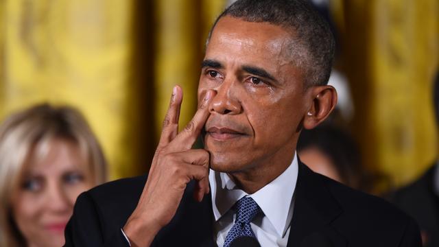 Obama roept kiezer op te stemmen op voorstander nieuwe wapenwet