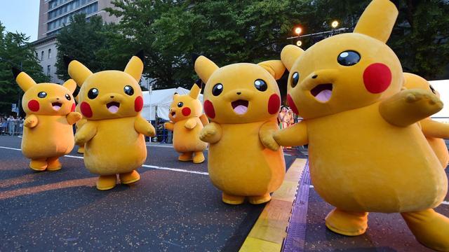 Politie haalt Pokémonzoekers van het spoor