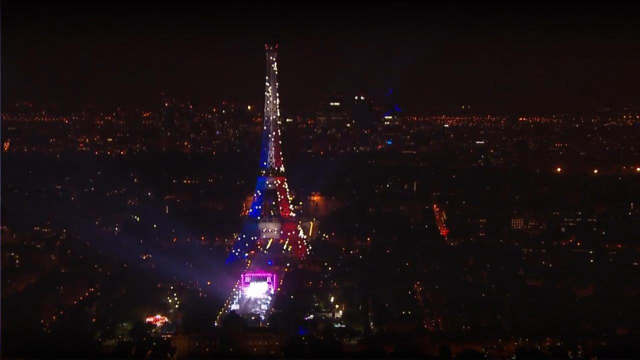 DJ David Guetta opent EK in Parijs