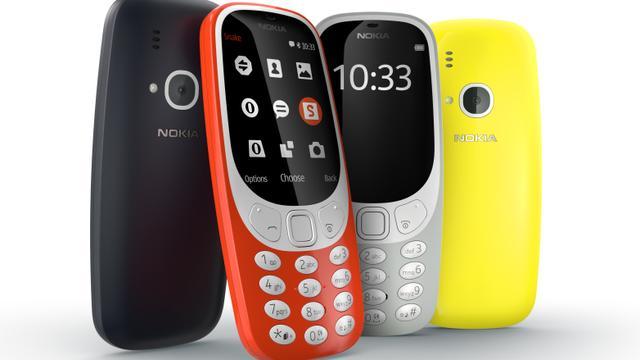 Nieuwe Nokia 3310 vanaf 5 juni te koop in Nederland