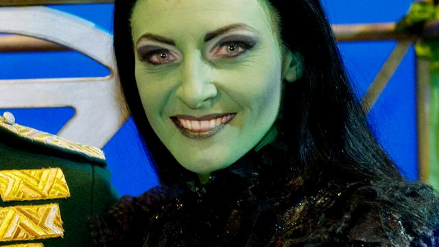 Wicked-actrice Verkaik nog niet verveeld door personage Heks Elphaba