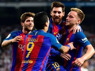 Barcelona naast Real Madrid aan kop in Spanje