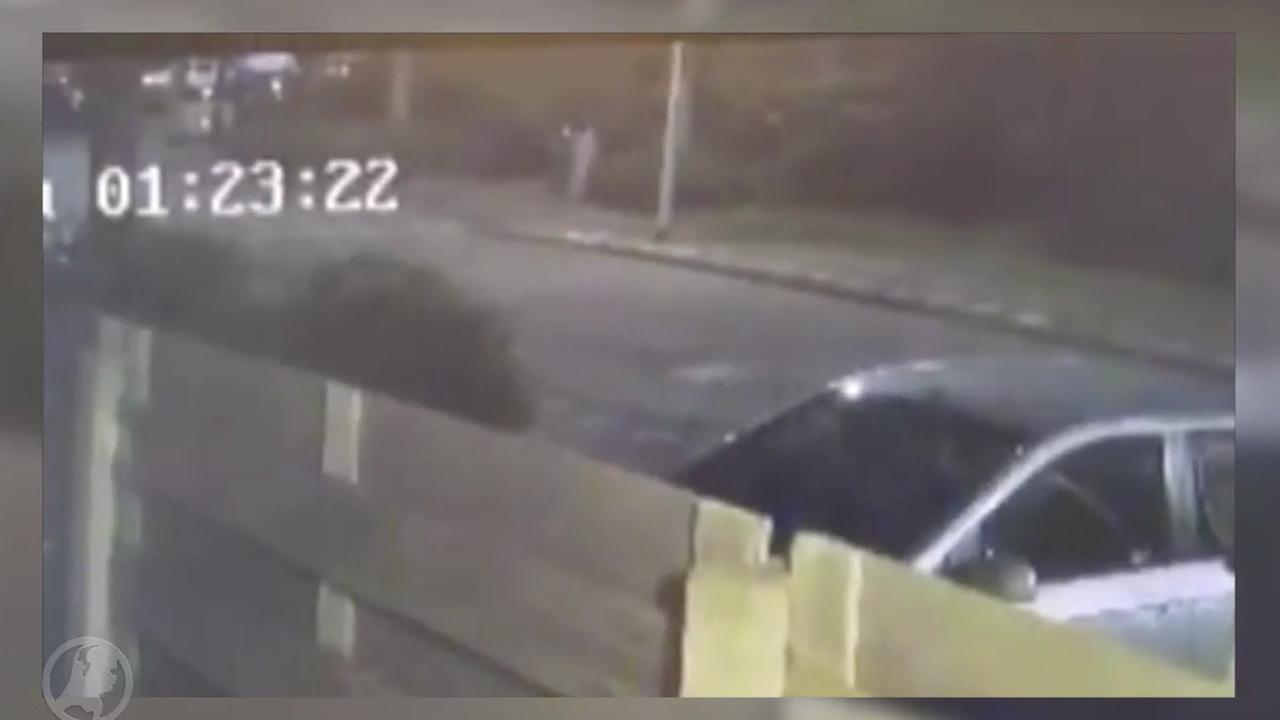 Bandenprikker Slash op heterdaad betrapt