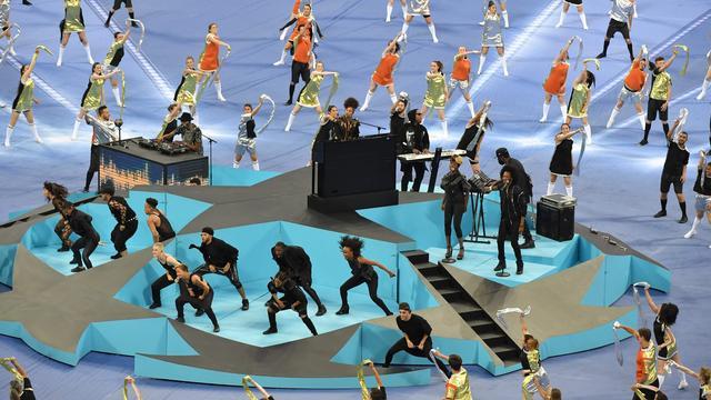 Optreden Alicia Keys voor Champions League-finale