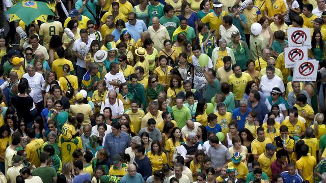Aandelenmarkt São Paulo hard getroffen door corruptiezaak