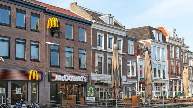 McDonald's Beestenmarkt 24 uur per dag open