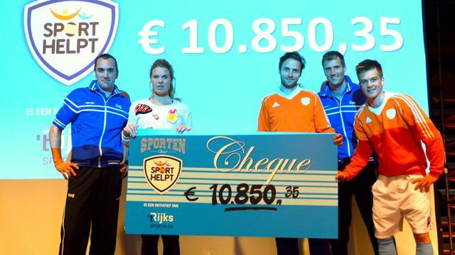 't Rijks sport 10.000 euro bij elkaar voor Sport Helpt