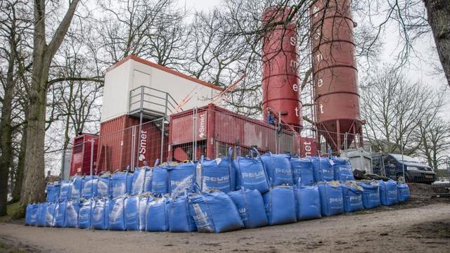Cementfabriek Zocherpark Utrecht blijft nog maanden staan